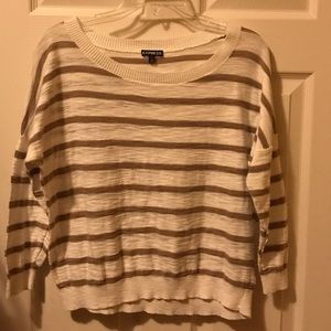 Express Short Sleeved Sweater